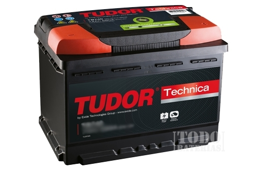 Tudor TB356A 12 V 240 A batteria Technica Tudor 35 Ah