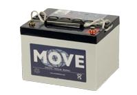 La batería MOVE MPG 38-12 es una batería de tecnología GEL, de 12V con capacidad de 38Ah