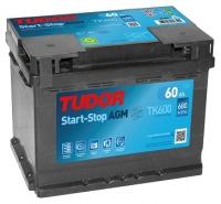 TUDOR AGM TK600 AGM 12V 60Ah 680A