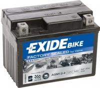 EXIDE MOTO AGM 12-4 12V 3Ah