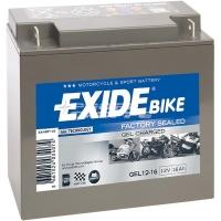 EXIDE MOTO GEL 12-16 12V 16Ah