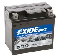 EXIDE MOTO AGM 12-5 12V 4Ah