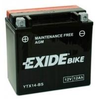 EXIDE MOTO AGM ETX14-BS 12V 12Ah