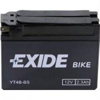 EXIDE MOTO AGM ET4B-BS 12V 2.3Ah MAINT.FREE