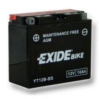 EXIDE MOTO AGM ET12B-BS 12V 10Ah MAINT.FREE