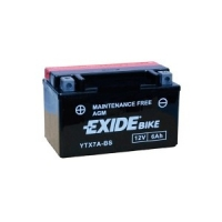 EXIDE MOTO AGM ETX7A-BS 12V 6Ah MAINT.FREE
