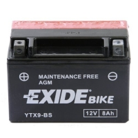 EXIDE MOTO AGM ETX9-BS 12V 8Ah MAINT.FREE