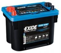 EXIDE DUAL AGM EP 450 12V 50 Ah 750 A