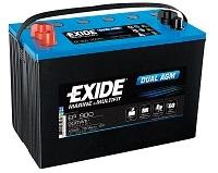 EXIDE DUAL AGM EP 900 12V 100 Ah 720 A