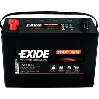 EXIDE START AGM EM 1100 12V 100 Ah