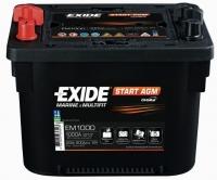 EXIDE START AGM EM 1000 12V 50 Ah
