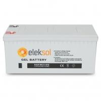 Bateria ELEKSOL Gel 6GFM250G 12V 250Ah
