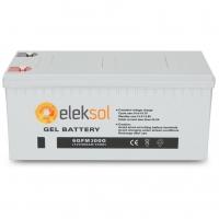 Bateria ELEKSOL Gel 6GFM300G 12V 300Ah