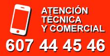 Telefono de contacto 607 44 45 46